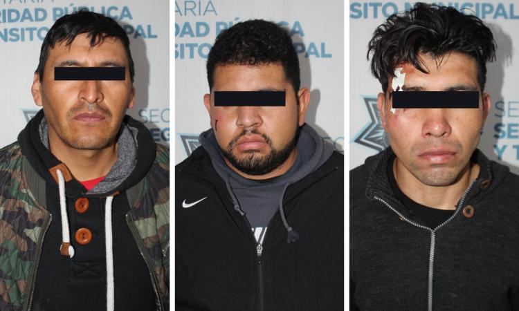 Asaltan gasolinera en la Joaquín Colombres; 3 detenidos