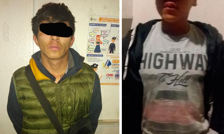 Tiroteo en Texmelucan deja dos ladrones detenidos