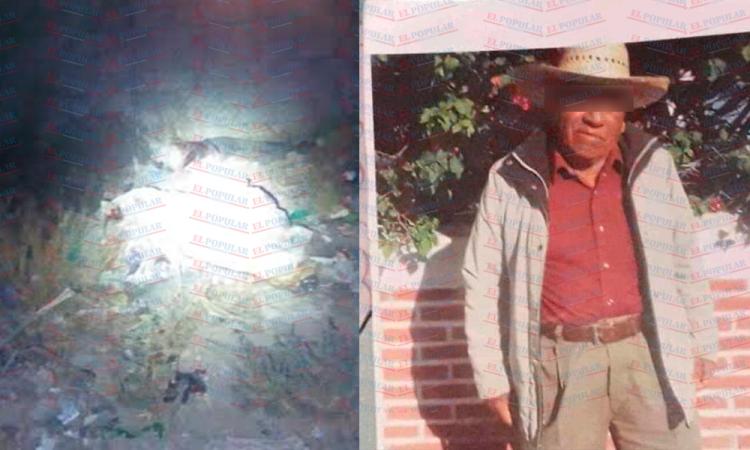 Restos humanos hallados en Tecamachalco son de un adulto mayor