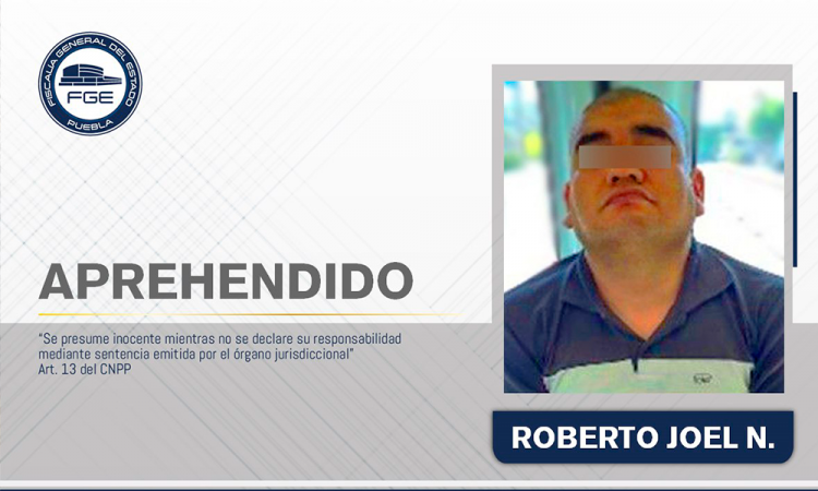 Cae homicida de Puebla tras 5 años prófugo