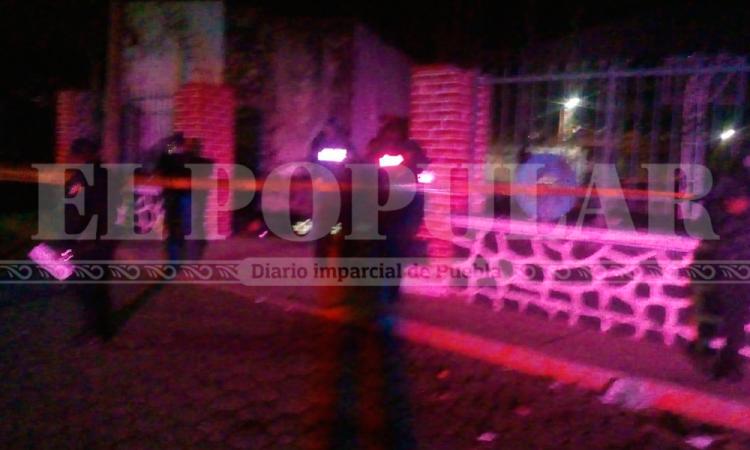 Ebrio ejecuta a pareja de jóvenes en Huaquechula