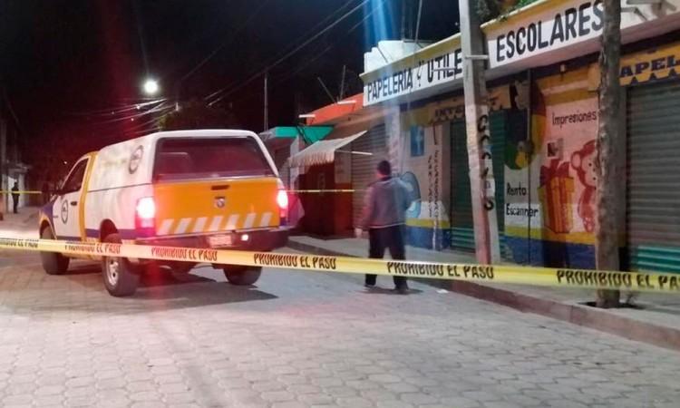 Madrugada violenta en Tehuacán: Ejecutan a mujer con 9 disparos