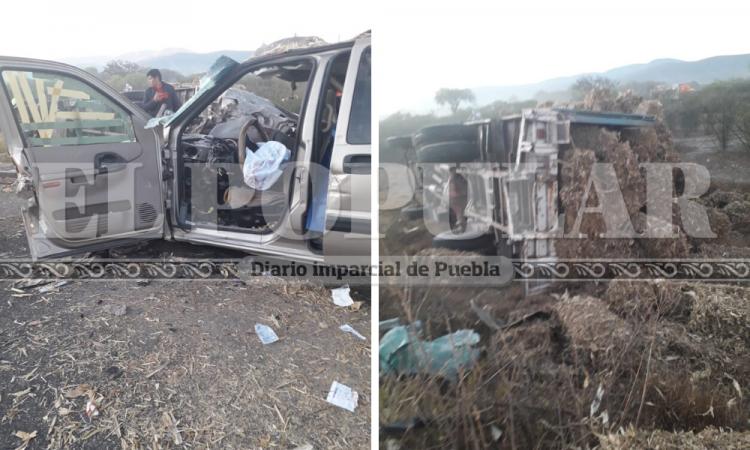 Mujer pierde la vida en choque fatal sobre la Puebla-Tehuacán