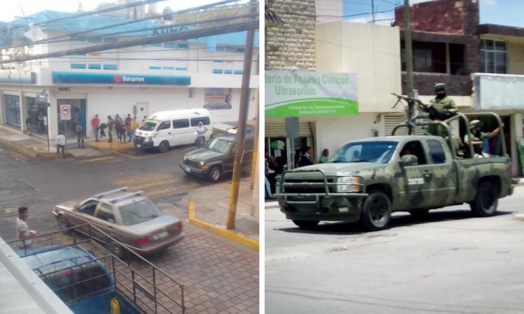 Hallan mercancía robada tras cateo en Tecamachalco