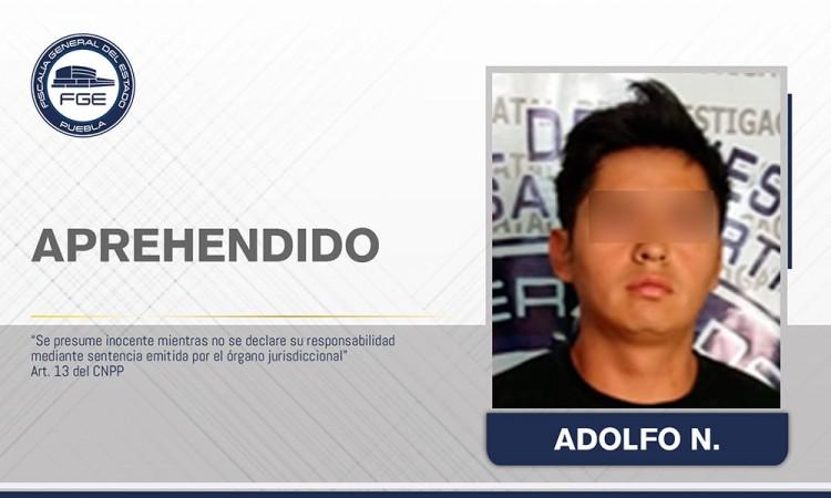 Capturado sujeto acusado de violación a menor en Texmelucan