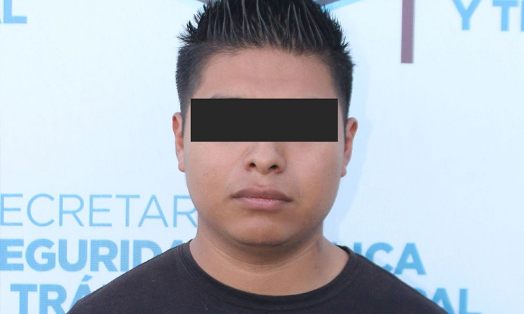 Detienen a presunto violador en centro de Puebla