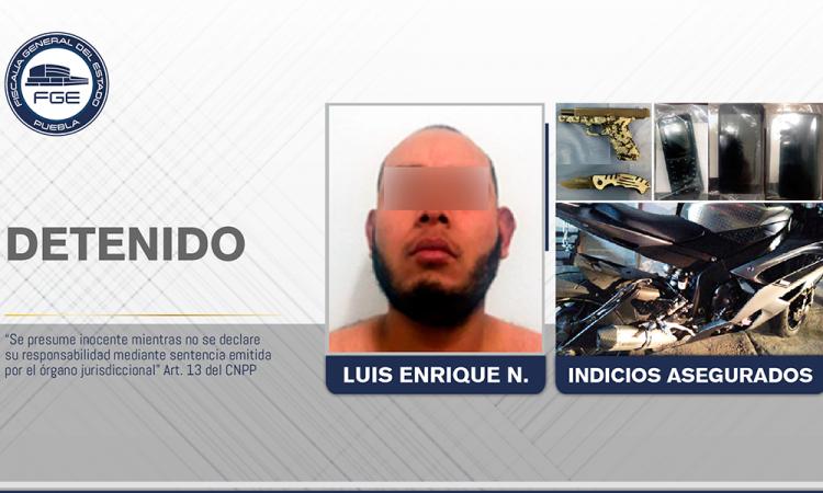 Detienen a secuestrador relacionado con embolsados de Amozoc