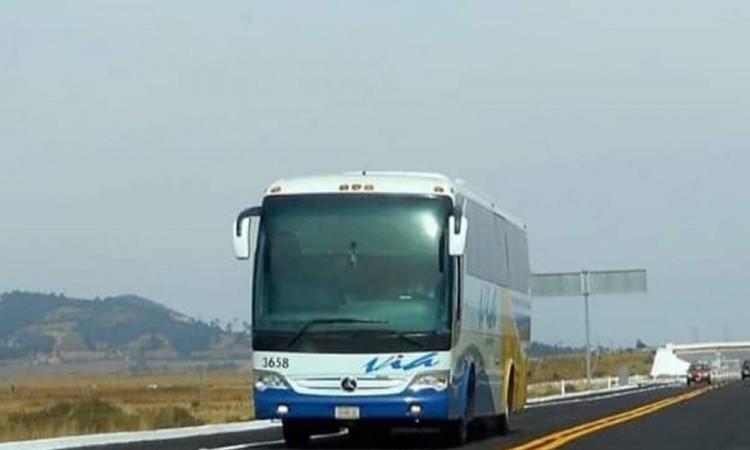 Oootra vez asaltan autobús en la pista a Libres