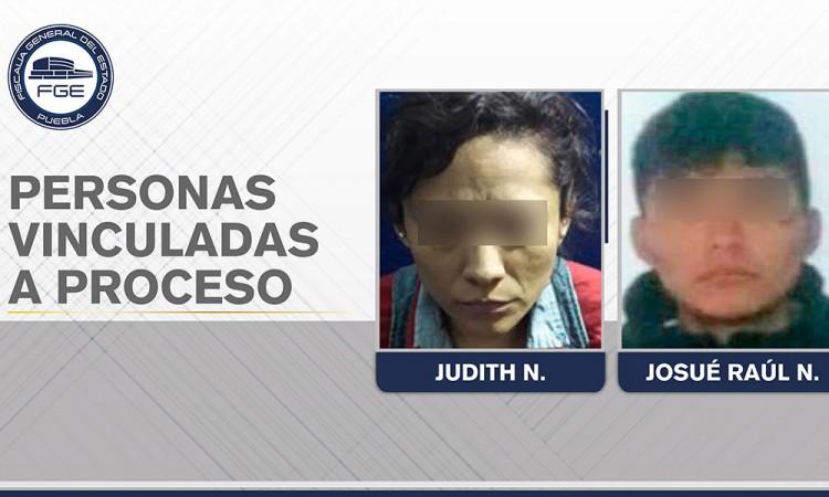 Vinculan a proceso a madre e hijo por homicidio en Tehuacán