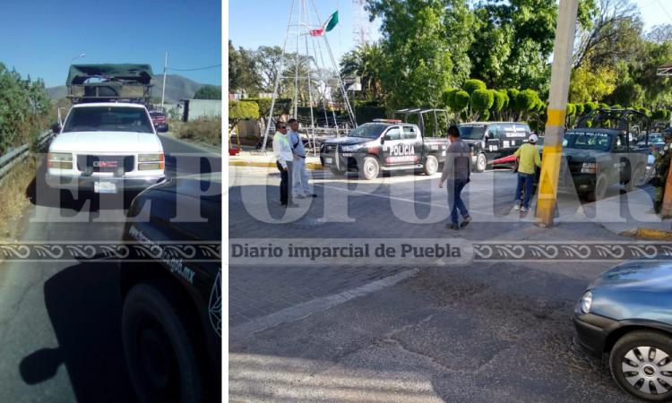 Balacera en la Puebla- Tehuacán, intentan robar camioneta