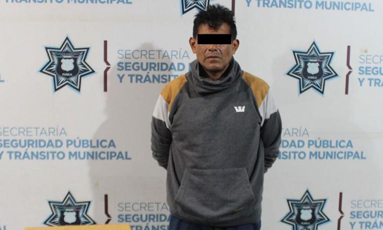 """Detienen a """"El Moreno"""" asaltante de tiendas"""