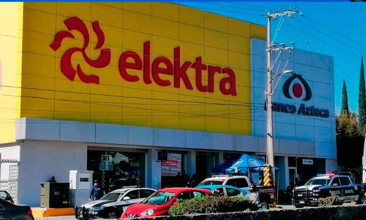Agarran a cuatro ladrones en Electra de Atlixco, Puebla