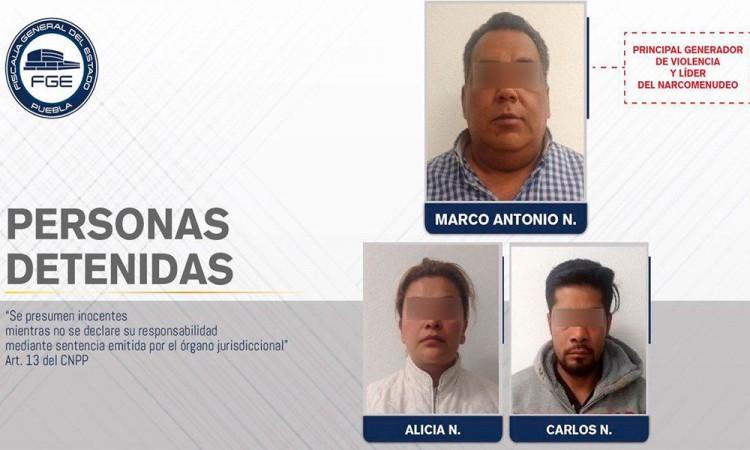 Detienen a El Negro, líder narcomenudista