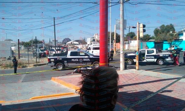 Asesinan a motociclista en Atlixco