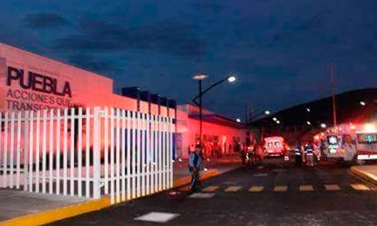 Roban camión de refrescos en Tecamachalco