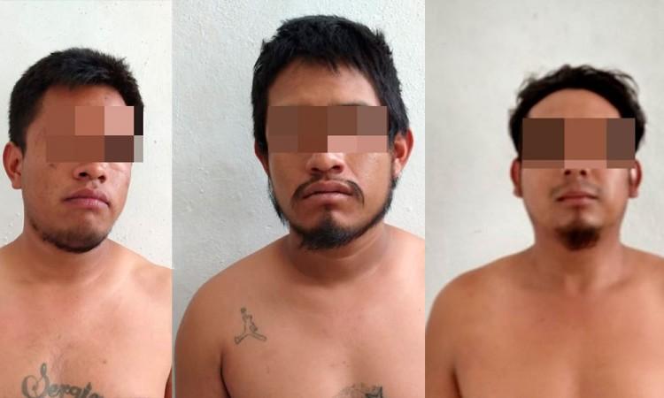 Captura SSP a tres hombres armados y con camioneta robada