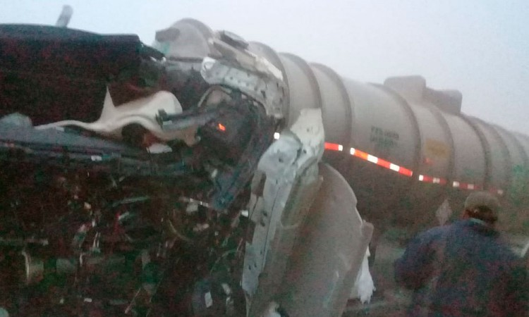 Un Muerto y cuatro heridos en la autopista Puebla Orizaba