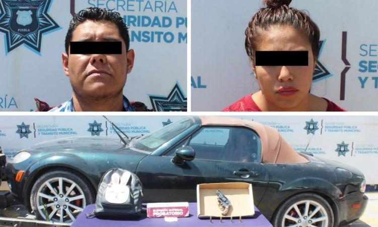 Detienen a dos por robo de vehículo en Historiadores de Rolando