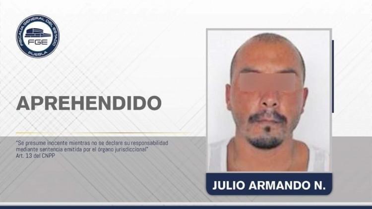 Detienen a presunto responsable de la desaparición de Nicora en Atlixco