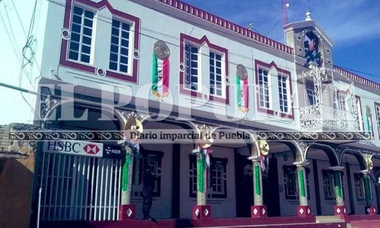 Se llevan cajero automático ubicado en Palacio Municipal de Cañada de Morelos