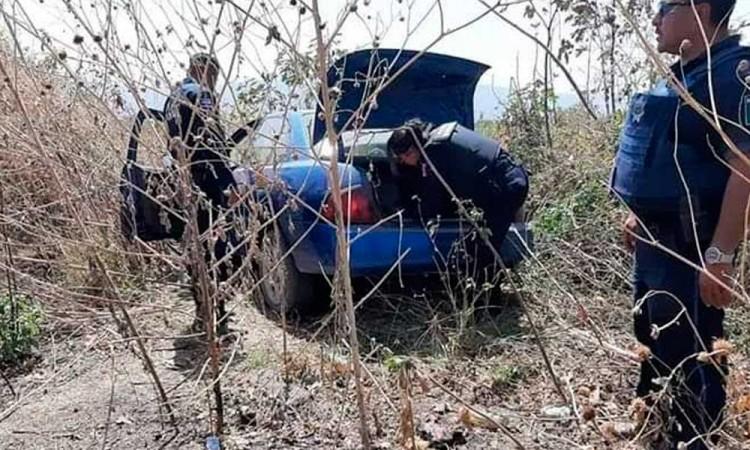 Detienen a tres ladrones de auto por Atlixco