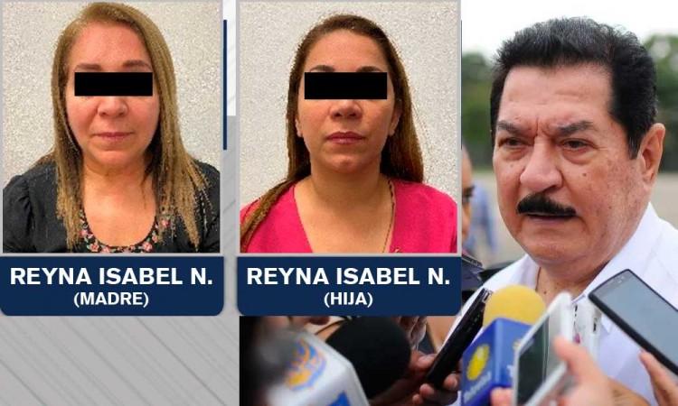 Detienen en Puebla a esposa e hija de líder petrolero de Veracruz