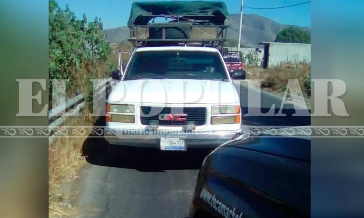 Roban camioneta repartidora en Tecamachalco