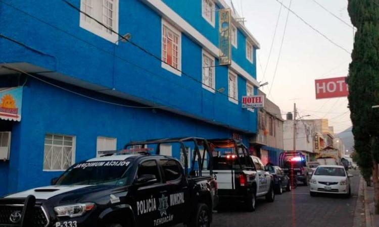Hallan a mujer muerta en hotel de Tehuacán