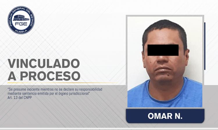 Vinculan a proceso a hombre por agredir a su pareja en Huejotzingo