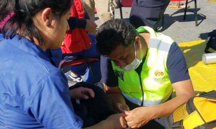 Desalojan empresa por fuga de amoniaco en Ixtacuixtla, Tlaxcala