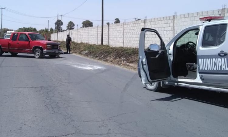Frustra Policía de Amozoc robo a camioneta