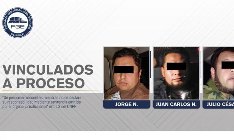 Tres detenidos en Chignahapan por posesión de drogas