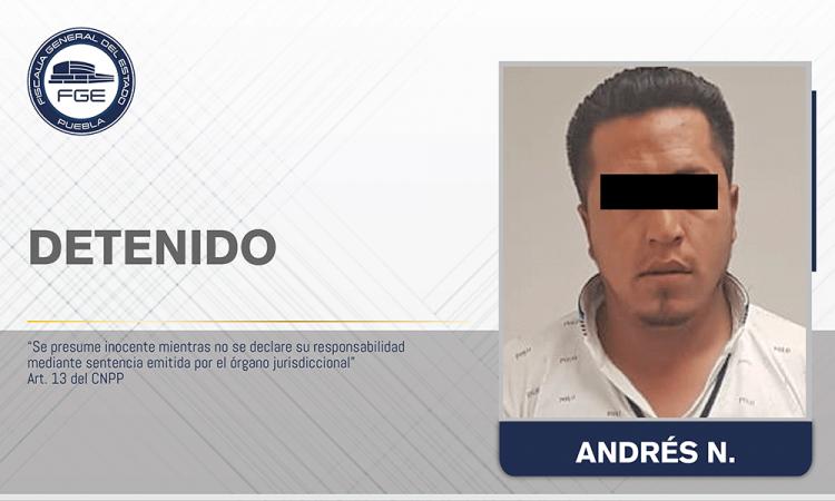 Detienen a sujeto por agredir a policías en Chignahuapan