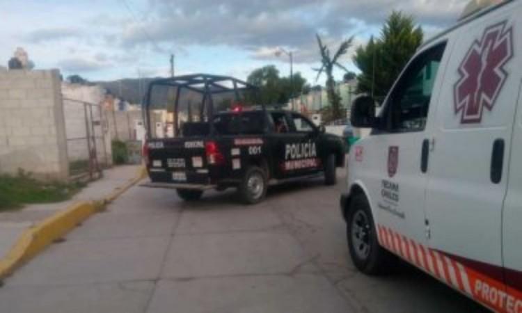 Dos heridos por choque con transporte público en Tecamachalco