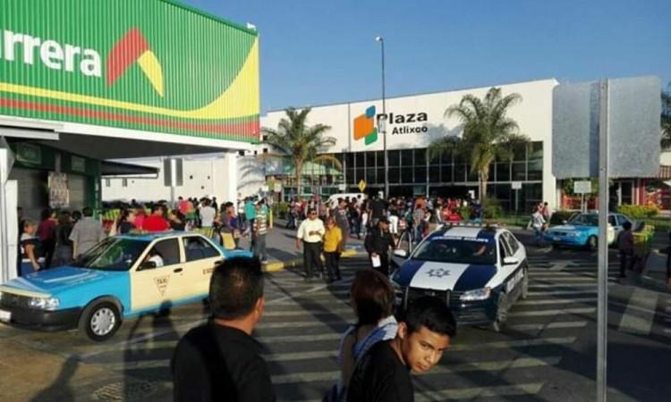Frustran asalto a supermercado en Atlixco