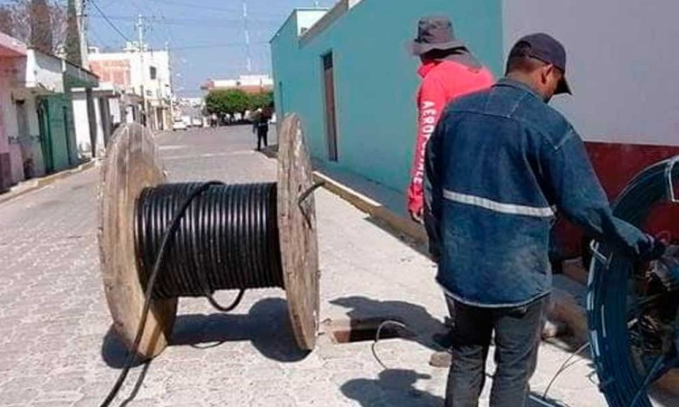 Robo de cables: dejan incomunicado a poblado de Atoyatempan