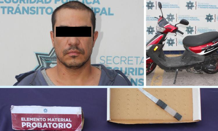 Detienen a presunto ladrón en Loma Linda