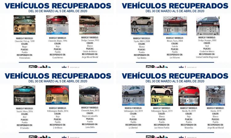 Remite Policía Municipal 19 vehículos ante agente de Ministerio Público