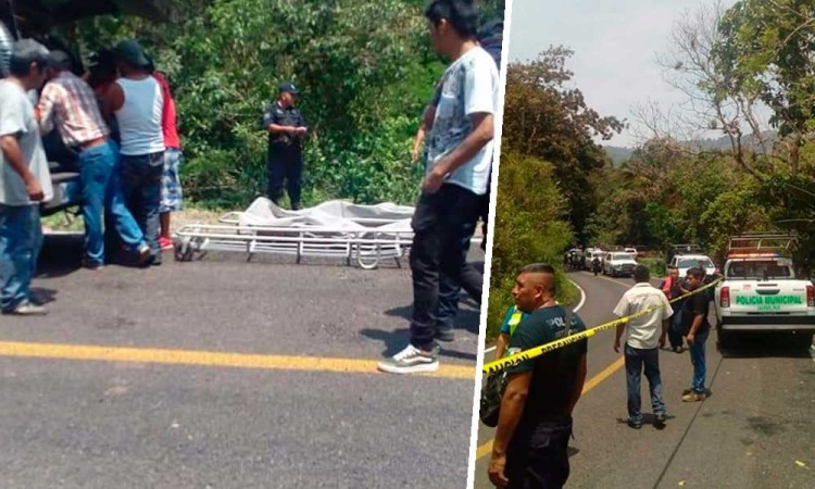 Fatal accidente se cobra la vida de 7 en Xicotepec