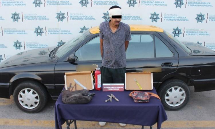 Recuperan vehículo robado en San Jerónimo Caleras