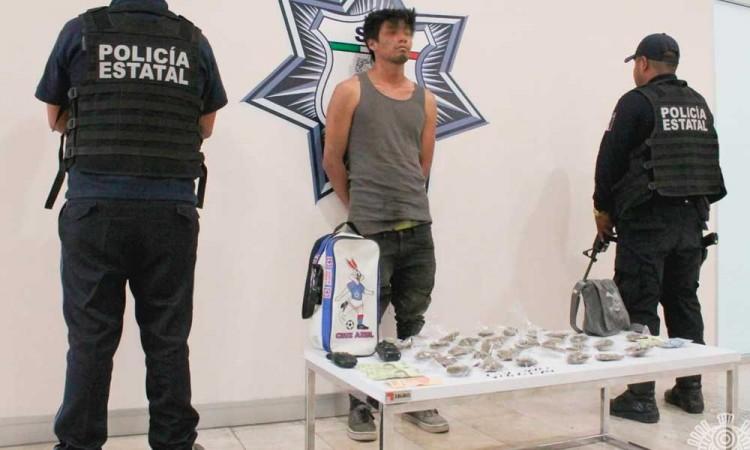 Detienen a presunto narcomenudista ligado a El Moy
