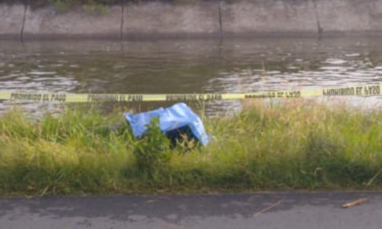 Encuentran cadáver en canal de Valsequillo