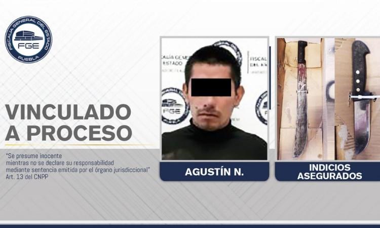 Dictan prisión preventiva contra presunto feminicida