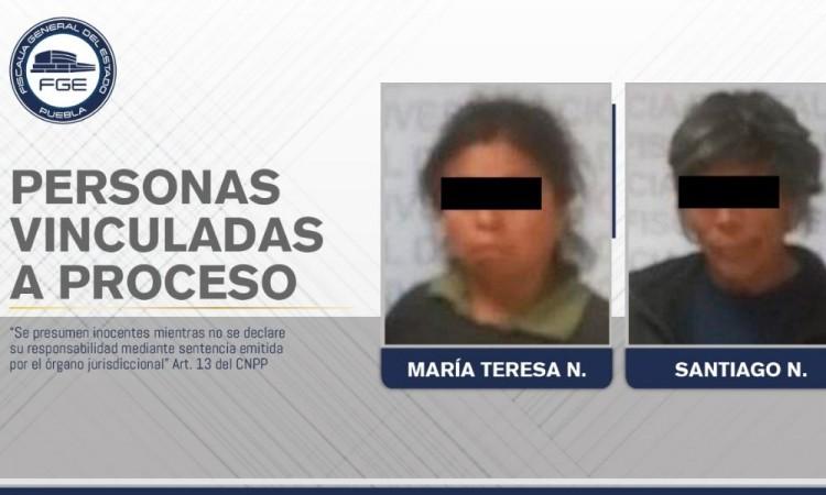 Detienen a pareja acusada de homicidio