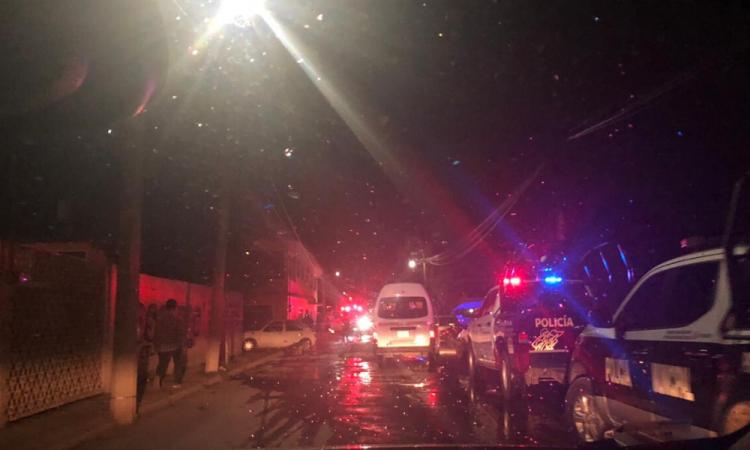 Un muerto y un herido tras balacera en Tlanalapan