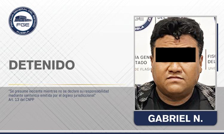 Detiene Fiscalía Puebla a presunto distribuidor de droga en La Merced