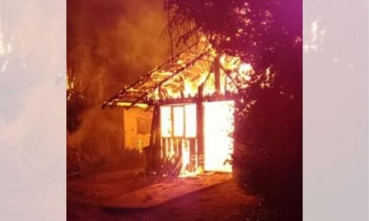 En 5 minutos, incendio deja sin hogar a familia