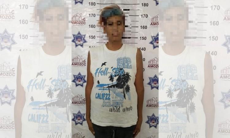 Detienen a sujeto acusado de robo y ataques al pudor