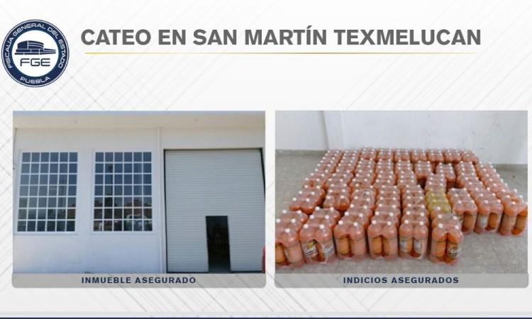 Fiscalía recupera refrescos robados en Texmelucan