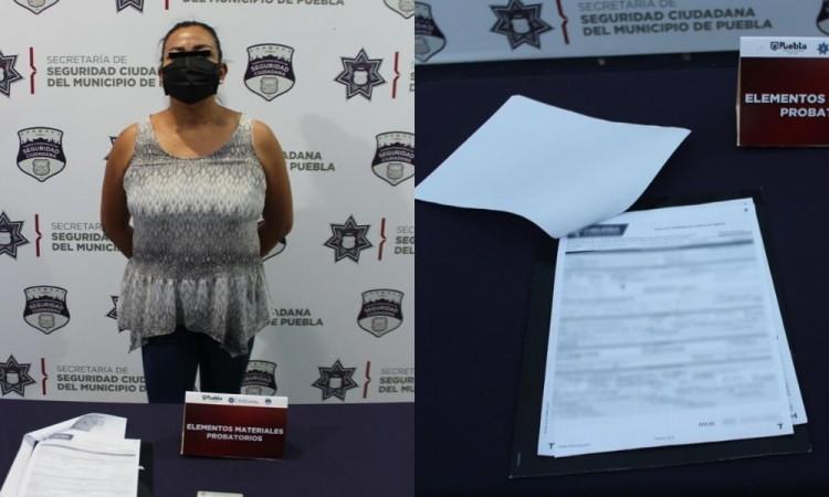 Detienen a mujer por fraude en La Paz